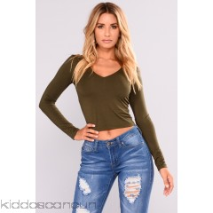 Londyn Tee - Olive - Womens Fashion Tops 17oCy7C2