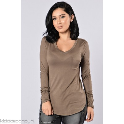 What's in Your Pocket? Top - Olive - Womens Fashion Tops 5dHWWgYo