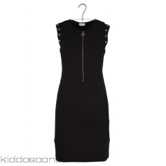 LIU JO - Women - Stretch knit dress with decorative studs pFQC6QIV