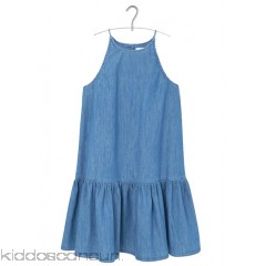 MANGO - Women - Flounced denim dress FQWWpIoe