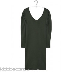 MANGO - Women - Knitted dress with leg-of-mutton sleeves pXA9z2RX