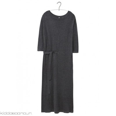 MANGO - Women - Long belted knitted dress tAVhXvoQ