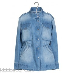 AU PRINTEMPS PARIS - Women - High-neck denim jacket ZfNcrMzc