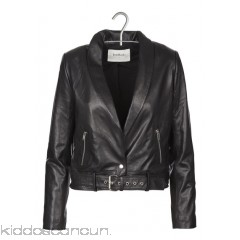 BA & SH - Women - Short leather jacket with shawl collar a5a9bBLv