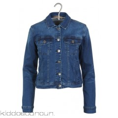 BEST MOUNTAIN - Women - Short fitted denim jacket aMVVXADD