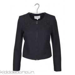 CLAUDIE PIERLOT - Women - Embroidered cotton jacket RT51w4ql