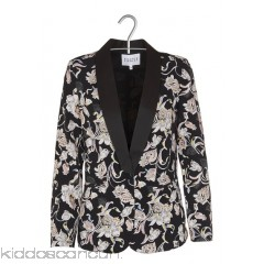 CLAUDIE PIERLOT - Women - Flowing crepe jacket with floral print VjyP4Ke5