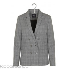 EKYOG - Women - Prince of Wales-check double-breasted jacket wLvdC2F0