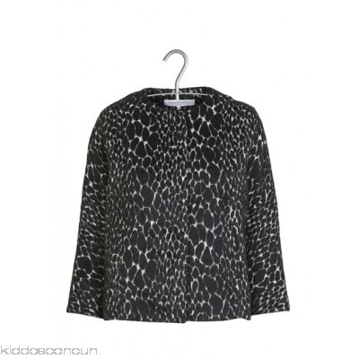 GERARD DAREL - Women - Cotton and wool leopard jacquard jacket ZcqYh0yG