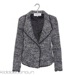 GERARD DAREL - Women - Shawl-collar tweed jacket foqnScU2