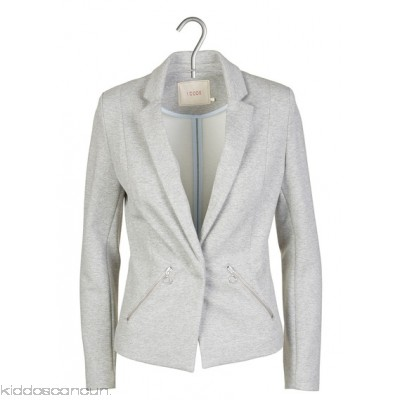 I CODE - Women - Mottled fitted fleece jacket JTCPl5lm
