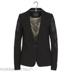 IKKS - Women - Embroidered crepe suit jacket 3x4Yy0Hj