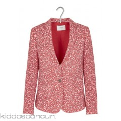 IKKS - Women - Printed fluid crepe jacket nxvuLZHK