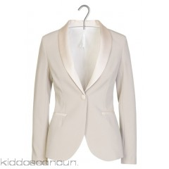 IMPERIAL - Women - Fitted jacket with satin collar zfBS4vNA