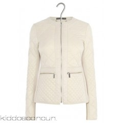 KAREN MILLEN - Women - Zipped fitted quilted jacket 615ah5nl