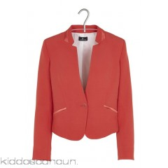 ONE STEP - Women - Reverse-collar straight-cut jacket a2nsPHko