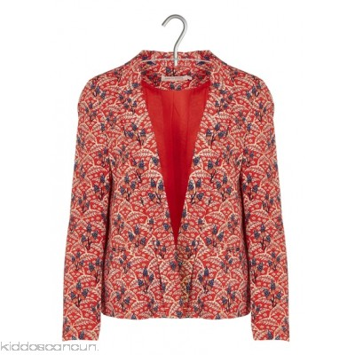 SEE U SOON - Women - Printed fluid jacket ruDsRM1r