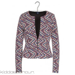 TOM TAILOR - Women - Short multi-coloured jacquard jacket 0GFg2oYA
