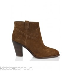 ASH - Women - Suede ankle boots with heel iiCeCzpc