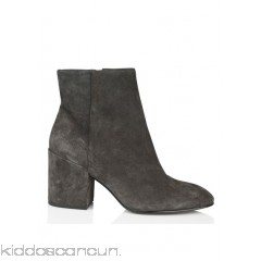 ASH - Women - Suede ankle boots with heel v6muV28R
