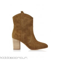 BA & SH - Women - Curt suede ankle boots with heel A2uNhwQ1