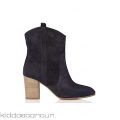 BA & SH - Women - Curt suede ankle boots with heel uxRplPWQ