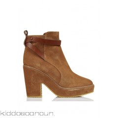 CASTANER - Women - Tropéa zipped suede ankle boots with heels qYKwUhLz