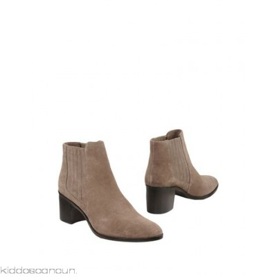 DUNE London Ankle boot - leather suede effect no appliqués solid colour elasticised gores narrow toeline - Womens Ankle Boots 11375105LC