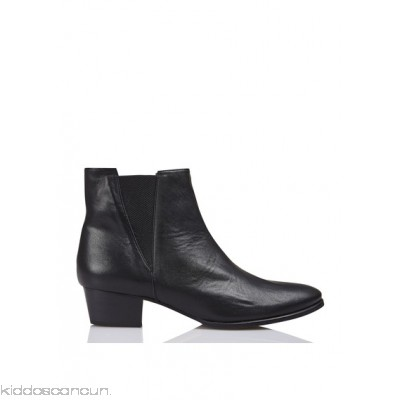 EMMA GO - Women - Leather ankle boots with heel vexr1bXY