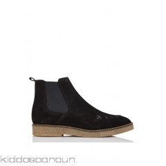 IKKS - Women - Suede boots with saddle stitch uDiKEyL5