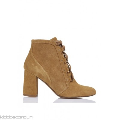 INTROPIA - Women - Lace-up leather ankle boots JPnnqQP2