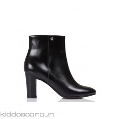 JONAK - Women - Leather ankle boots with zip EyxlL683