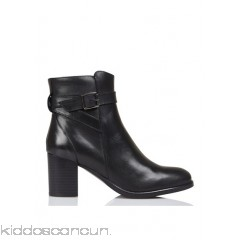 JONAK - Women - Leather ankle boots with zip Fjal0mtd