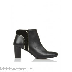 KARL MARC JOHN - Women - Hybride leather ankle boots with heel nEqd2Buj