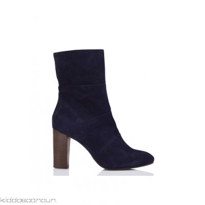 LA FEE MARABOUTEE - Women - Suede ankle boots with heel ryXdINLz