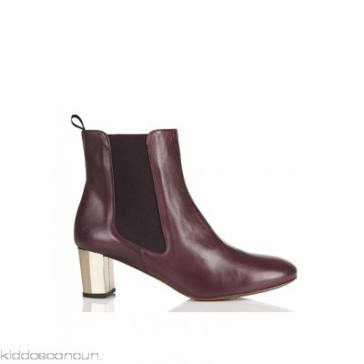 NEW LOVERS - Women - Mid-heel leather ankle boots ETjCTrXr
