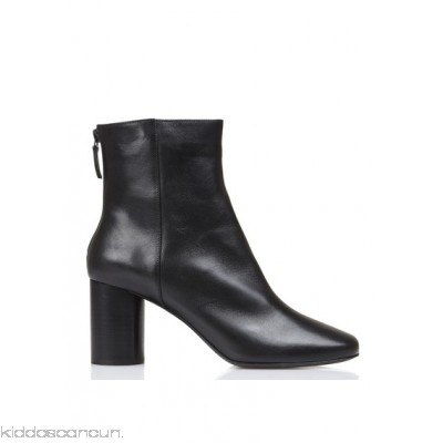 SANDRO - Women - Heeled leather ankle boots nzDFLttE