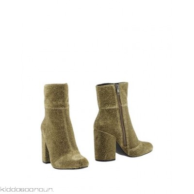 STEVE MADDEN Ankle boot - knitted lamé no appliqués solid colour zip round toeline - Womens Ankle Boots 11363464UQ