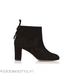 TILA MARCH - Women - Back-tie suede ankle boots with heel Db9Z1aCn