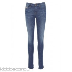 DIESEL - Women - Skinzee stretch cotton slim-fit stonewash jeans IdJkBZAn