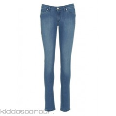 IKKS - Women - Embroidered slim jeans S8Vp0Qmo