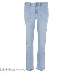 LAB DIP - Women - High-waisted faded straight jeans C1x70MNz