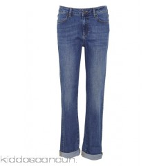 NICE THINGS - Women - Straight-cut jeans Kw8YZtXG