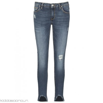 REIKO - Women - Destroyed and cropped skinny jeans cLYL0ha2