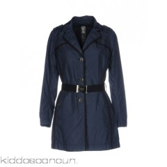 ADD Belted coats - techno fabric logo belt solid colour single-breasted  button closing - Womens Coats 41775890TI