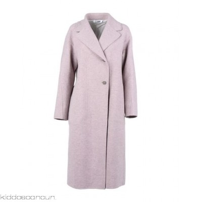 JIL SANDER Coat - baize no appliqués solid colour single-breasted button closing lapel collar - Womens Coats 41773731LJ