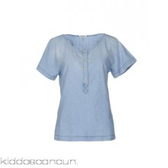 <b>Notice</b>: Undefined index: alt_image in <b>/home/kiddoscancun/public_html/vqmod/vqcache/vq2-catalog_view_theme_cerah_template_product_category.tpl</b> on line <b>73</b>CYCLE Denim shirt - denim solid colour worn effect faded effect dark wash front closure - Womens Denim Shirts 42551561PW