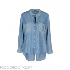 <b>Notice</b>: Undefined index: alt_image in <b>/home/kiddoscancun/public_html/vqmod/vqcache/vq2-catalog_view_theme_cerah_template_product_category.tpl</b> on line <b>73</b>HIGH Denim shirt - denim embroidered detailing logo solid colour dark wash long sleeves - Womens Denim Shirts 42650661KG