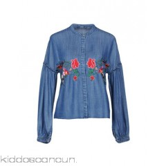 <b>Notice</b>: Undefined index: alt_image in <b>/home/kiddoscancun/public_html/vqmod/vqcache/vq2-catalog_view_theme_cerah_template_product_category.tpl</b> on line <b>73</b>ONLY Denim shirt - denim frills embroidered detailing solid colour dark wash long sleeves - Womens Denim Shirts 42663402QI
