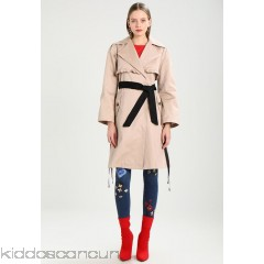 Lost Ink VOLUME SLEEVE SKIRTED  - Trenchcoat - tan - Womens Trench Coats L0U21U00P-B11